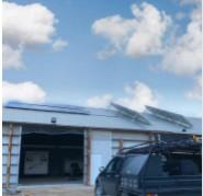 Matt Swan hill solar shed